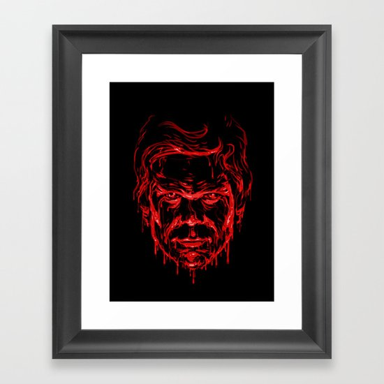 The Dark Passenger Framed Art Print