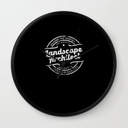 Best Landscape Architect genuine and trusted Wall Clock