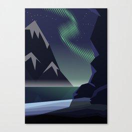 Iceland, my Love Canvas Print
