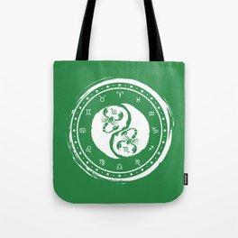 Scorpio Yin Yang Eighth Zodiac Sign Tote Bag