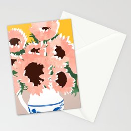 Sunshine On a Cloudy Day #painting #botanical Stationery Cards