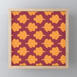 Modern Fall Floral Pattern VIII Framed Mini Art Print