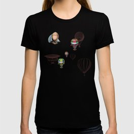 Balloon Festival Brown T-shirt