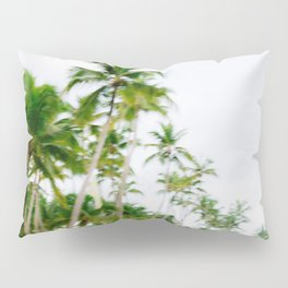 Paradise found | Coastal beach fine art photography print | The Dominican Republic Pillow Sham