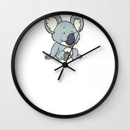Funny Koala Bear Gift T-Shirt Koalas Bears Tee Shirt Wall Clock