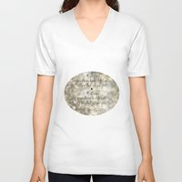 """levi V-neck T-shirts featuring """"I See the Light"""" by Mandy Moore and Zachary Levi from the movie """"Tangled"""" by Melissa Martinez"""