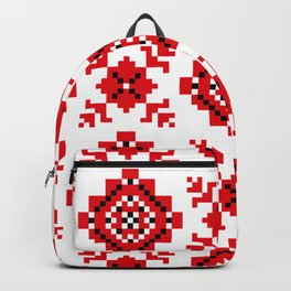 Slavonic national ornament Backpack