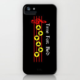 Time For Bed - Zeldas Lullaby (The Legend Of Zelda: Ocarina Of Time) iPhone Case