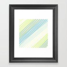 Sweet Streak Framed Art Print
