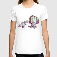 leon T-shirts featuring leon - mathilda  by Doruktan Turan