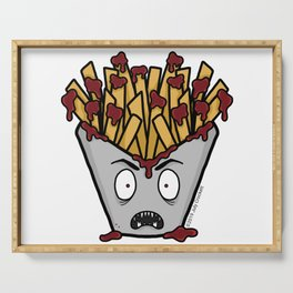 Vampire French Fries Serving Tray