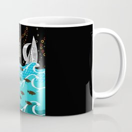Fly with bird Coffee Mug