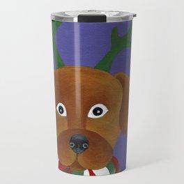 Christmas Pup Travel Mug