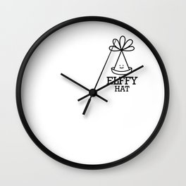 Elffy Hat Wall Clock