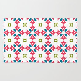 Fashion modern design beautiful patterns. Stylish graphic colors ornament textures Rug
