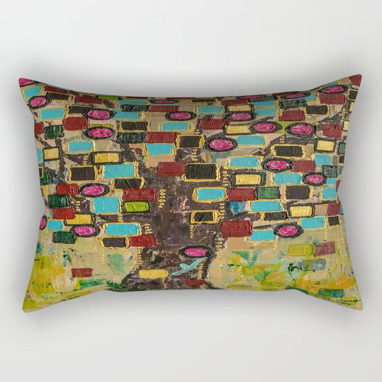 :: Jewel Tree :: Rectangular Pillow