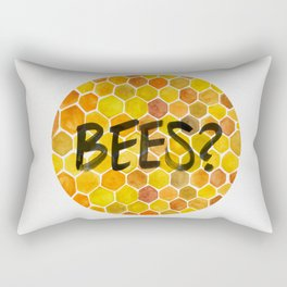 BEES? Rectangular Pillow