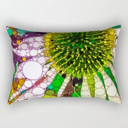 Prickly flower to you Rectangular Pillow
