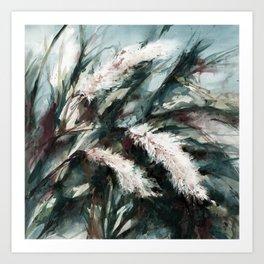 Pampas Grass 1i by Kathy Morton Stanion Art Print