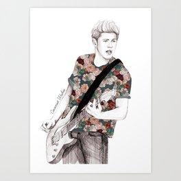 Floral Niall Art Print