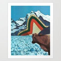 the fabric of reality (crisp) Art Print