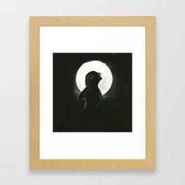 Bury Anger Framed Art Print