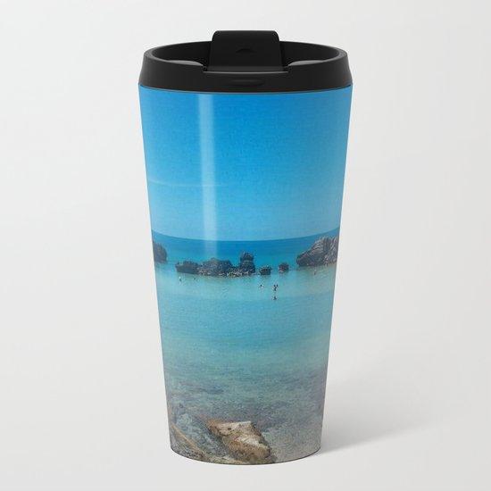 Bermuda Beach 2 Metal Travel Mug