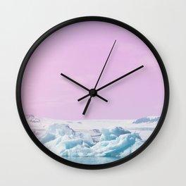 Iceberg Lagoon Wall Clock