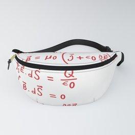 Physics formula equation Fanny Pack