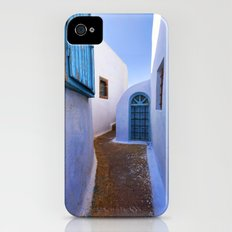 Mediterranean blue iPhone (4, 4s) Slim Case