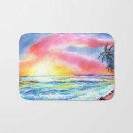Magical Kauai Sunset Bath Mat