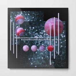 geometric decoration -1- Metal Print