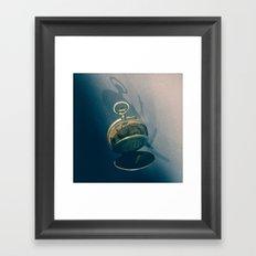 Clock 2 Framed Art Print