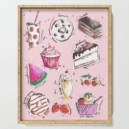 Food Love Serving Tray