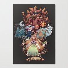 The Four Season Canvas Print