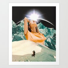 'Mora' Art Print
