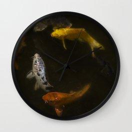 Koi Circle Wall Clock