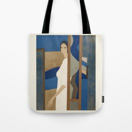 Poster-André Minaux-Helene. Tote Bag