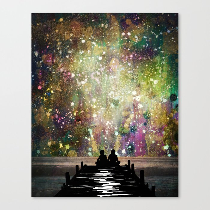 The Universe Was Ours Canvas Print