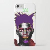 biggie smalls iPhone & iPod Cases featuring Biggie by Kibwe Maono