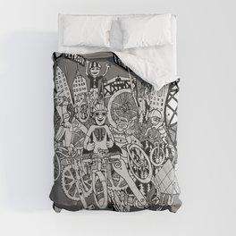 Cleveland Critical Mass Poster Comforters