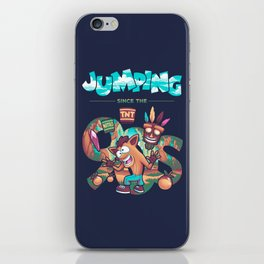 Jumping Since The 90s iPhone Skin