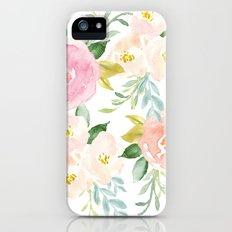 Floral 02 iPhone SE Slim Case