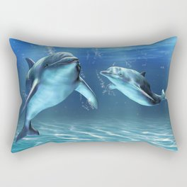 Dolphin Dream Rectangular Pillow