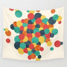 Spheres Wall Tapestry