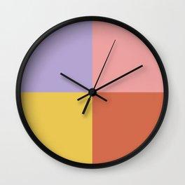 Color Block Abstract XIII Wall Clock