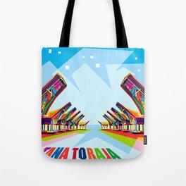Toraja Land In Pop Art Tote Bag