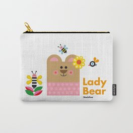Lady Bear Carry-All Pouch