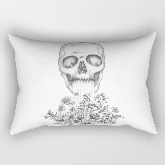 The Birth of  Death Rectangular Pillow