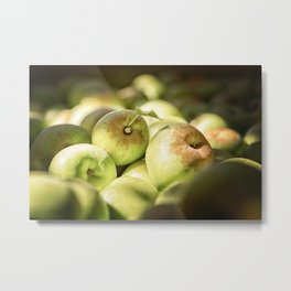 Green Jewels Metal Print